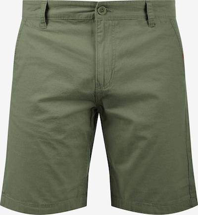 !Solid Chinoshorts 'Thement' in grün / khaki, Produktansicht