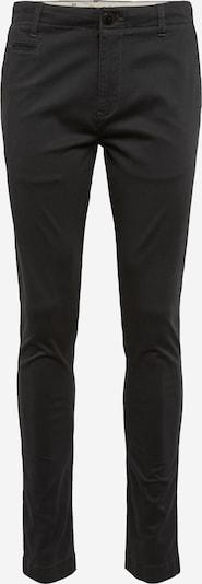 KnowledgeCotton Apparel Pantalon chino 'Pistol Joe' en noir, Vue avec produit