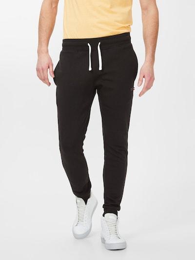 Produkt Sweathose in schwarz / weiß, Modelansicht