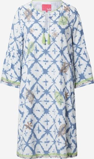 Suknelė iš LIEBLINGSSTÜCK , spalva - mėlyna / ruda / žalia / balta, Prekių apžvalga