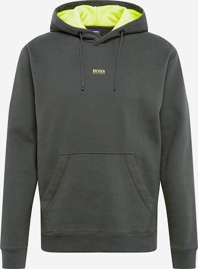 BOSS Sweatshirt 'Weedo' in de kleur Donkergroen, Productweergave