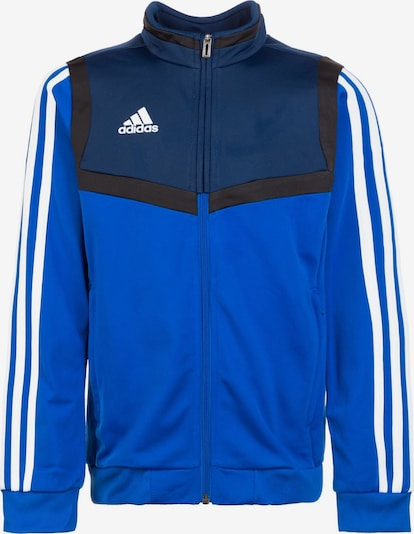 ADIDAS PERFORMANCE Trainingsjacke 'Tiro 19' in blau / weiß, Produktansicht