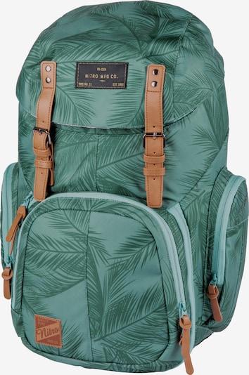 NitroBags Rucksack in grün / mint / schwarz, Produktansicht