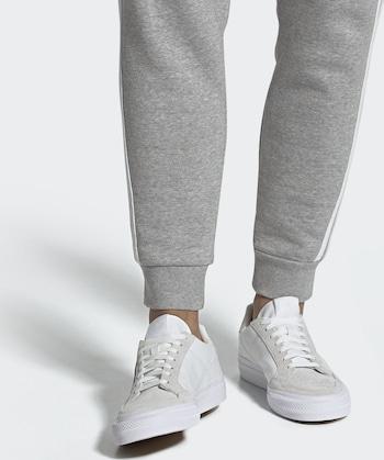 ADIDAS ORIGINALS Sneaker 'Continental Vulc' in beige/wit