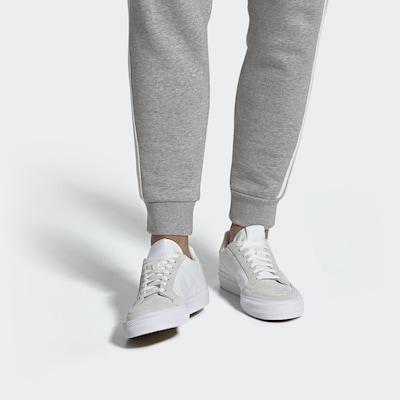 ADIDAS ORIGINALS Sneaker 'Continental Vulc' in beige / weiß