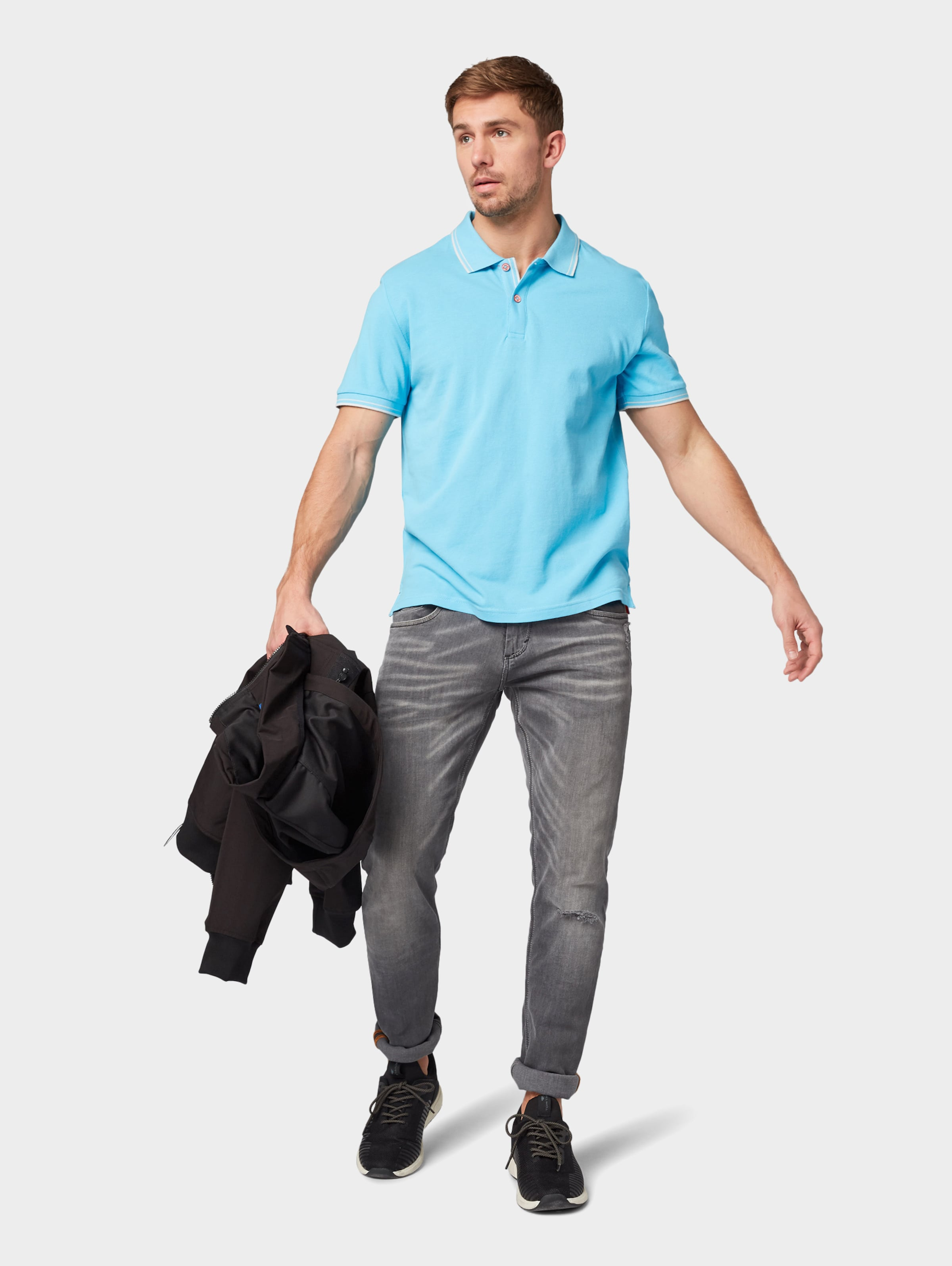 Tailor In In Tailor Poloshirt In Tom Poloshirt Tailor Türkis Tom Tom Türkis Poloshirt SVUpqzM