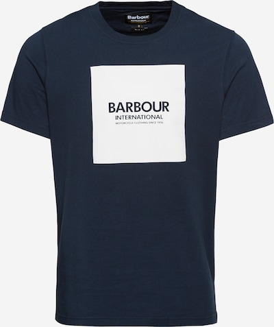 Barbour International T-Shirt in navy / weiß, Produktansicht