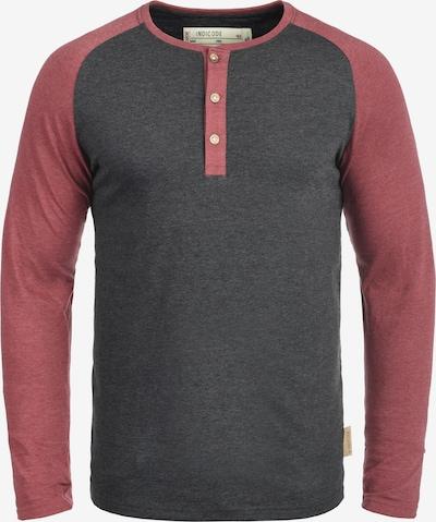 INDICODE JEANS Rundhalsshirt 'Winston' in grau, Produktansicht