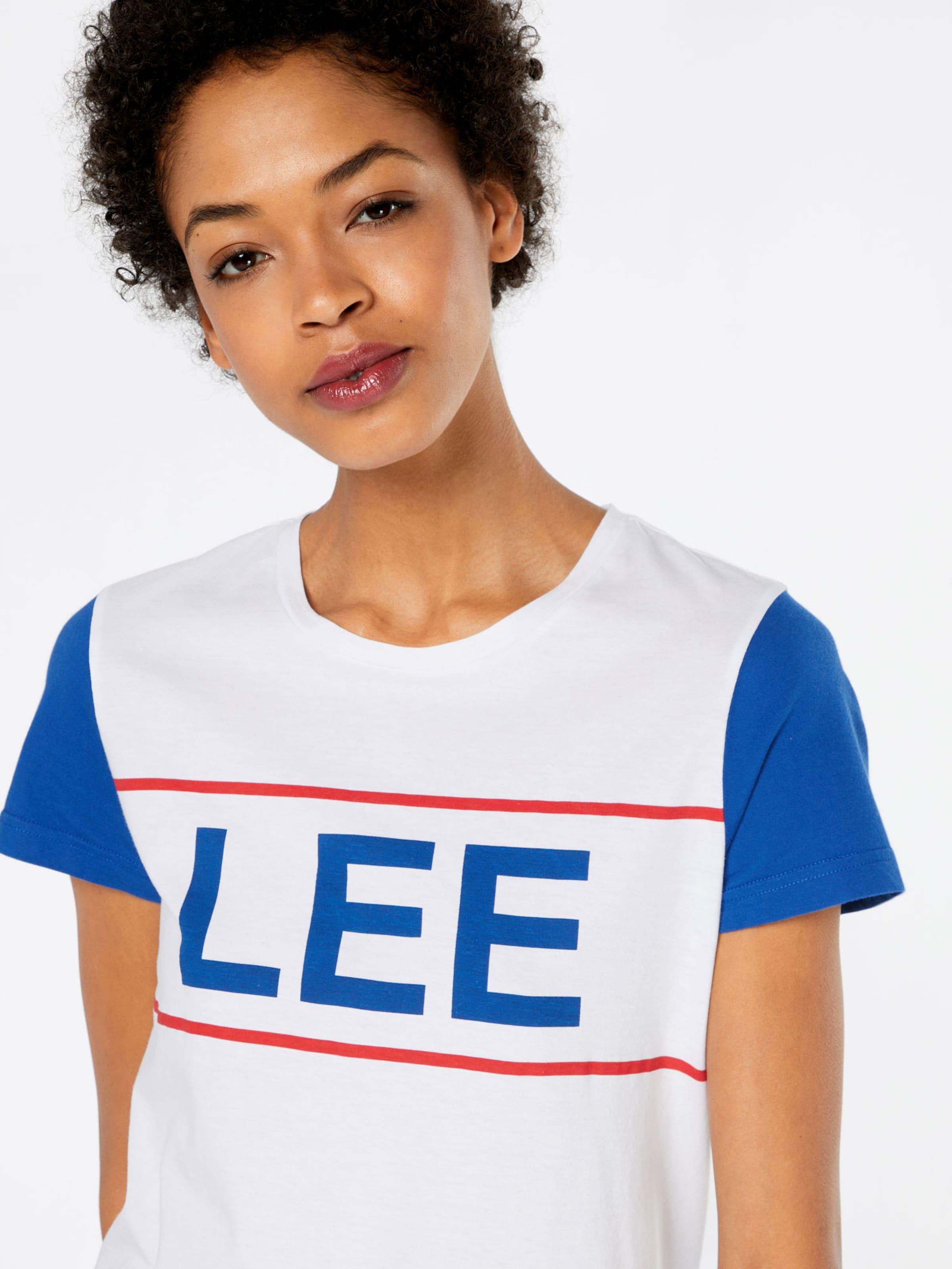 Lee T-Shirt 'LEE COLORBLOCK' Billiger Blick Mit Mastercard Online tHEsnqj