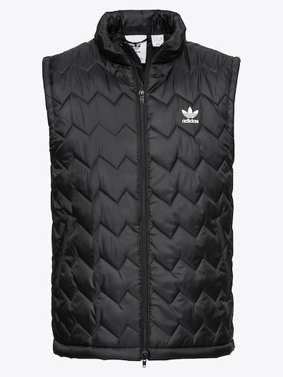 ADIDAS ORIGINALS Bodywarmer 'SST PUFFY' in de kleur Zwart / Wit, Productweergave