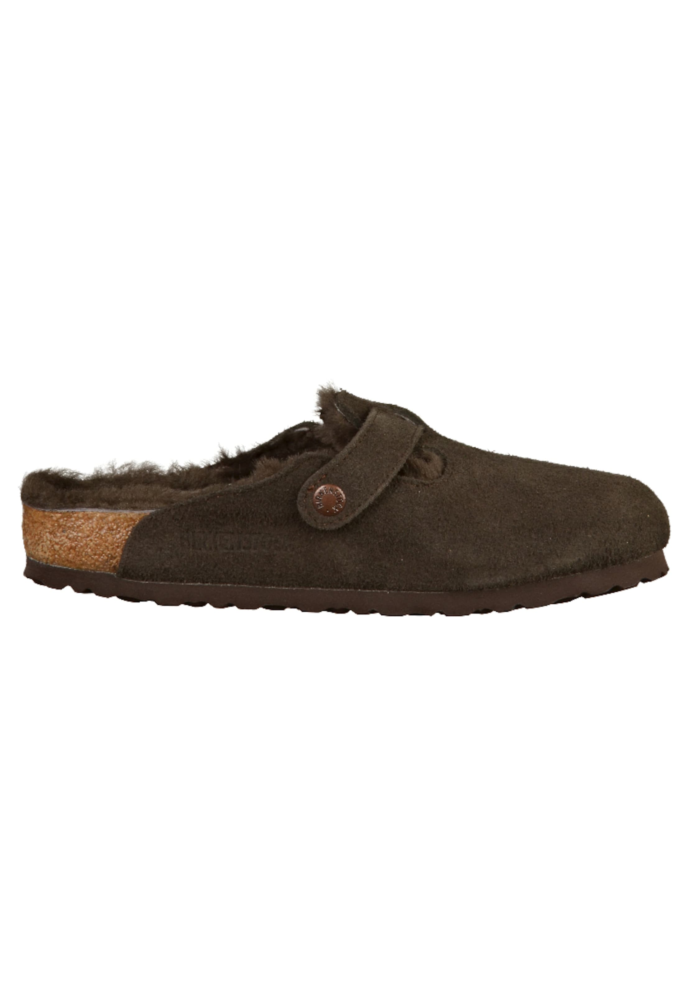 Normal Clogs 'boston Fur' In Braun Birkenstock CxoerWdB