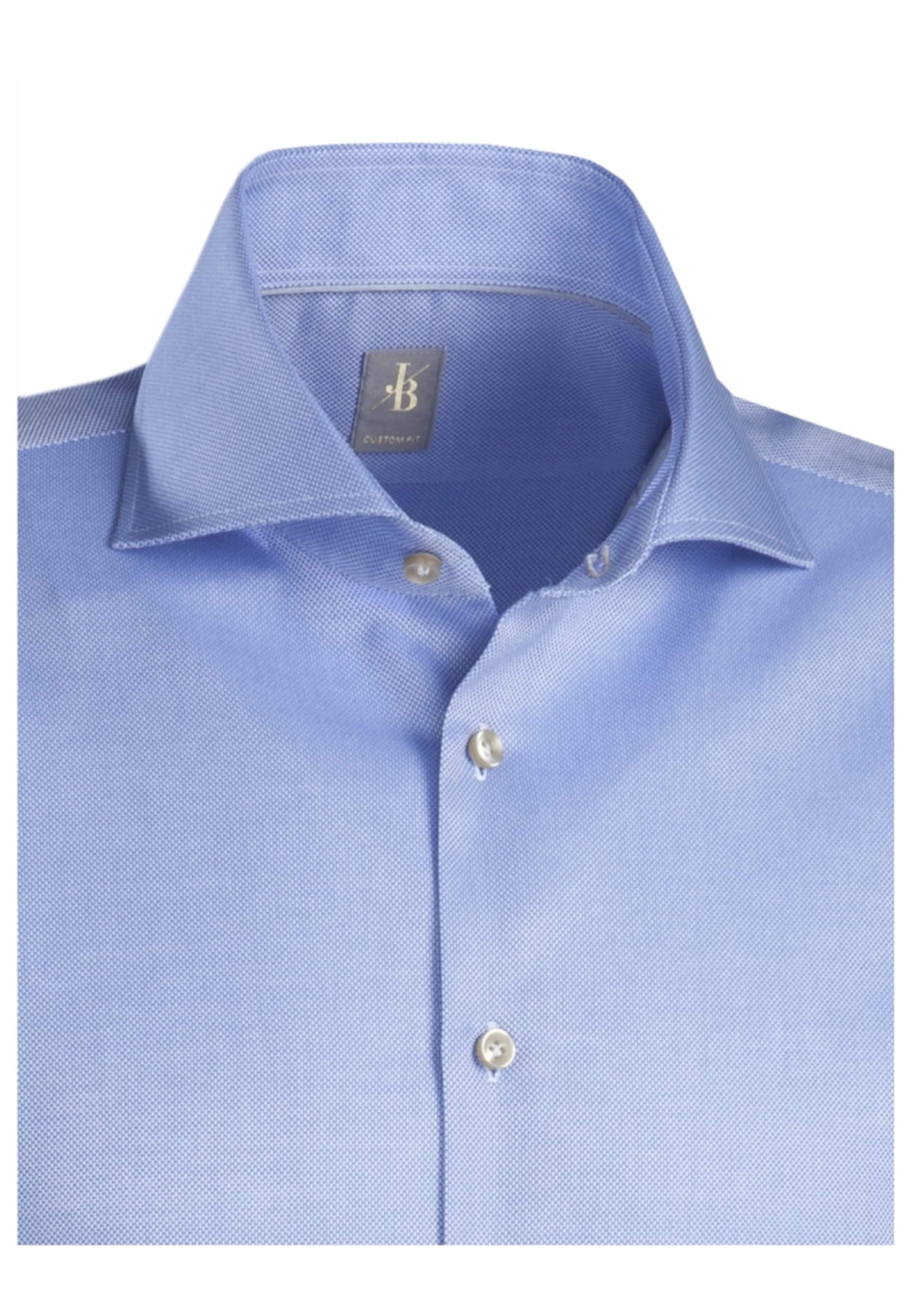 hemd Fit Custom Britt In City Royalblau Jacques ' wZTPilOkXu