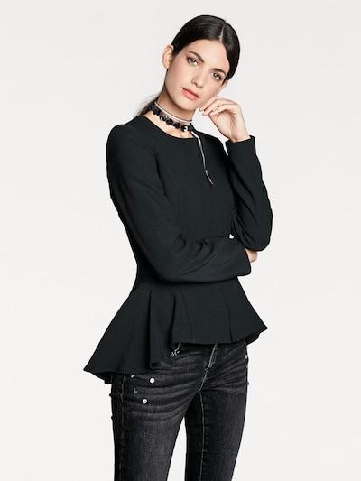 heine Schößchenblazer in schwarz, Modelansicht