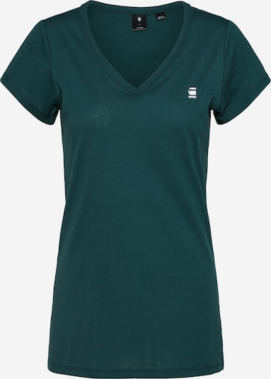 G-Star RAW T-shirt 'Eyben V' en vert, Vue avec produit