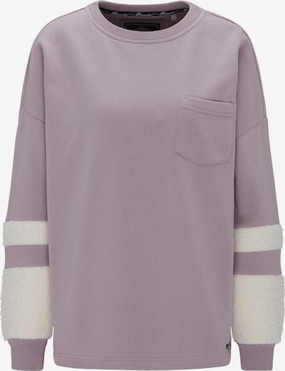 DREIMASTER Sweatshirt in de kleur Donkerroze / Wit, Productweergave