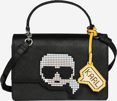 Karl Lagerfeld Umhängetasche in schwarz / weiß, Produktansicht