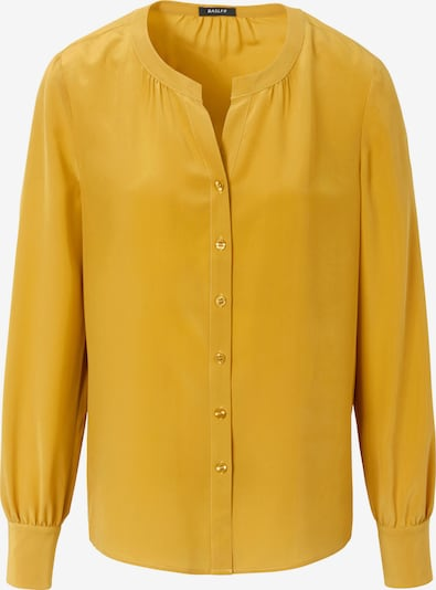Basler Bluse aus 100% Seide in gelb, Produktansicht