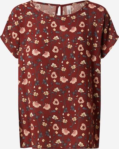 Soyaconcept Shirt 'Sammy 22' in rostbraun / mischfarben, Produktansicht