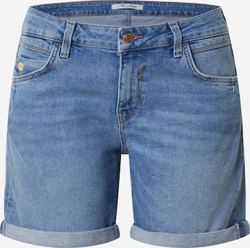 Mavi Shorts 'Pixie' in Blau