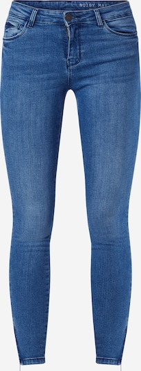 Noisy may Jeans 'NMKIMMY NW ANKLE ZIP JEANS' in blue denim: Frontalansicht