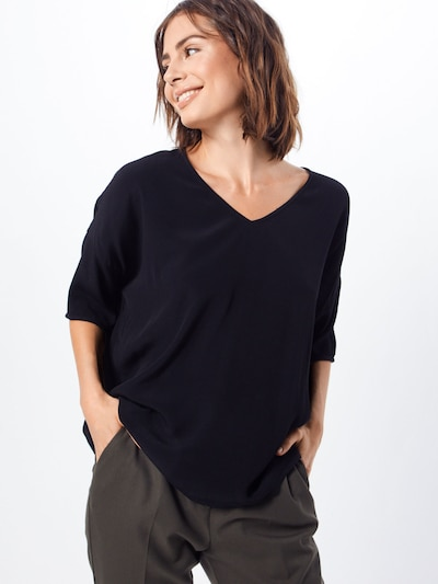 Samsoe Samsoe Bluseshirt in schwarz, Modelansicht