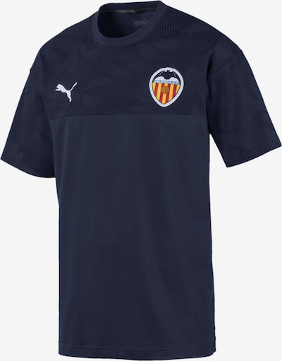 PUMA T-Shirt 'Valencia CF' in navy, Produktansicht