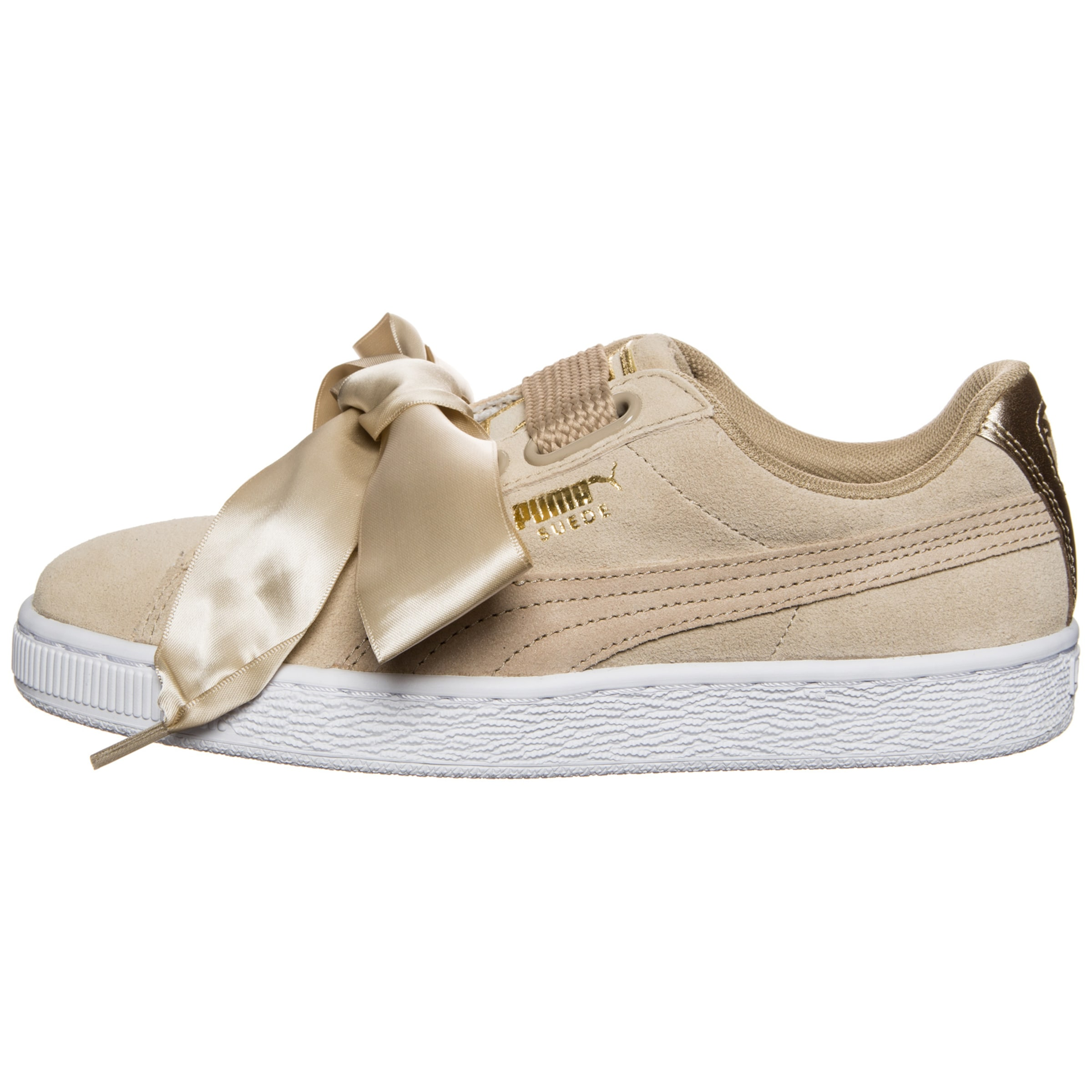 Puma Safari' In Sneaker Heart HellbraunWeiß 'suede yvn0wmN8O