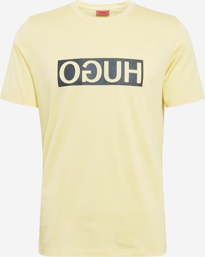 HUGO T-Shirt 'Dicagolino202' en jaune / noir, Vue avec produit