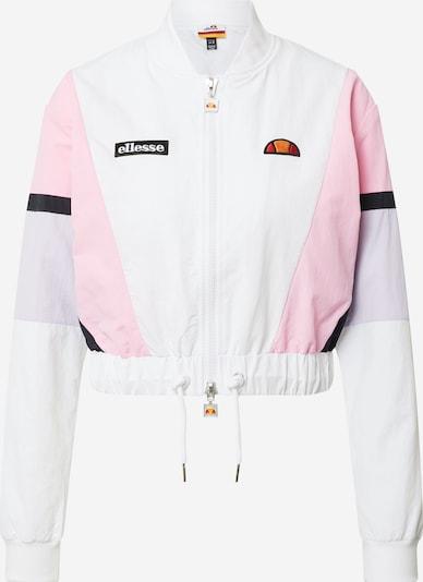 ELLESSE Kevad-sügisjope 'Shiaro' lilla / roosa / must / valge: Eestvaade