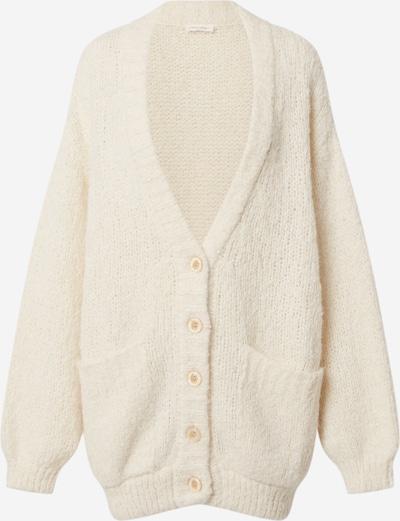 AMERICAN VINTAGE Strickjacke 'TUDBURY' in beige, Produktansicht