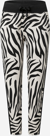 Leggings monari pe negru / alb, Vizualizare produs