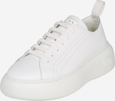 Sneaker low ARMANI EXCHANGE pe alb, Vizualizare produs
