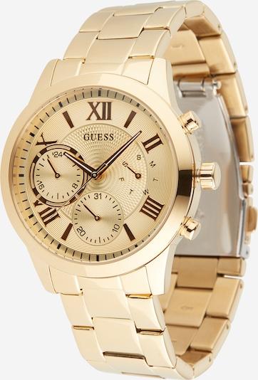 Analoginis (įprastinio dizaino) laikrodis 'SOLAR' iš GUESS , spalva - Auksas, Prekių apžvalga