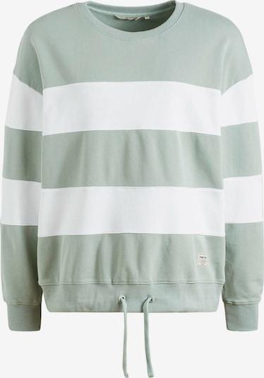 khujo Sweatshirt ' NECHANA ' in grün / weiß, Produktansicht
