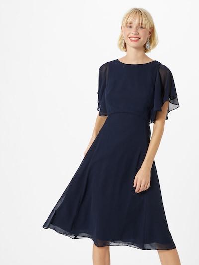 SWING Sukienka koktajlowa w kolorze ciemny niebieskim, Podgląd na modelu(-ce)