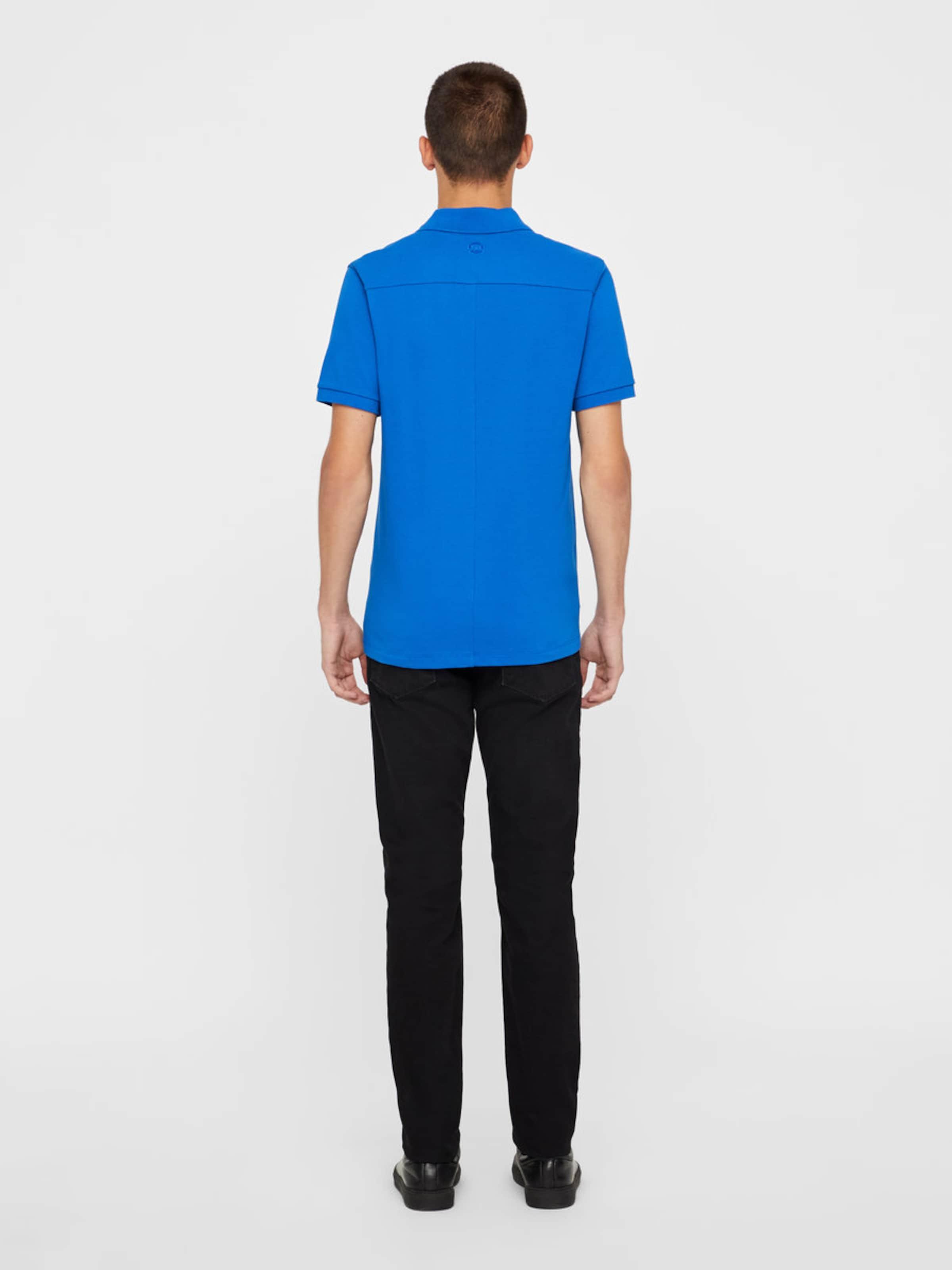 lindeberg J Pique' Blau In Poloshirt 'von E2I9DH