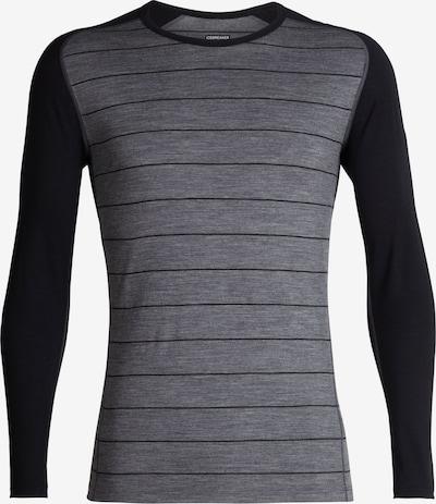 Icebreaker Shirt '200 Oasis Deluxe' in grau / anthrazit, Produktansicht