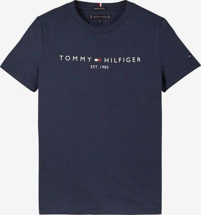 TOMMY HILFIGER Majica u mornarsko plava / vatreno crvena / bijela, Pregled proizvoda