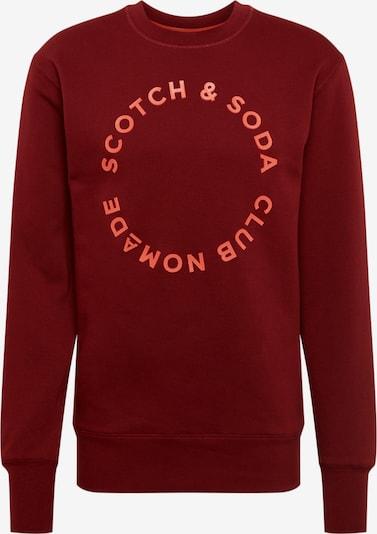 Bluză de molton SCOTCH & SODA pe roșu ruginiu, Vizualizare produs