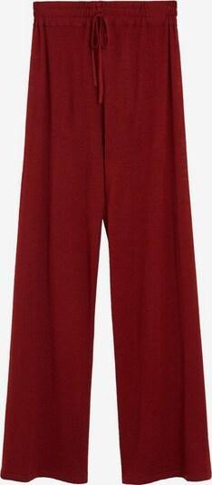 MANGO Hose linen in rot, Produktansicht