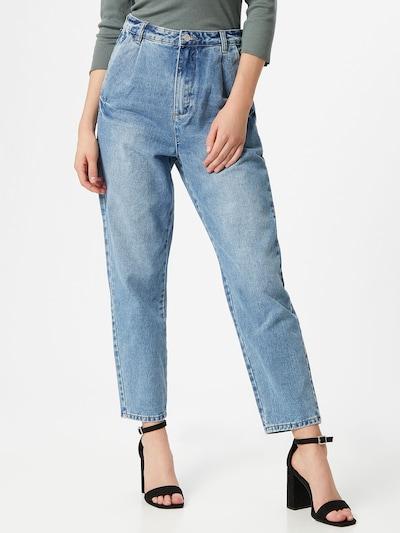 Missguided Jeans in blue denim, Modelansicht