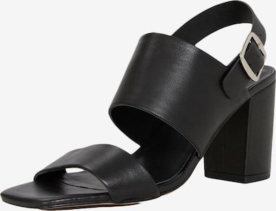 Sandale 'Maggie' EDITED pe negru, Vizualizare produs