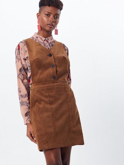 VILA Kleid 'JOSY' in braun, Modelansicht
