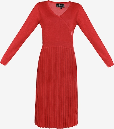 faina Kleid in rot, Produktansicht