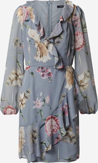 Trendyol Letnia sukienka w kolorze jasnoniebieski / szary / różowy pudrowym, Podgląd produktu