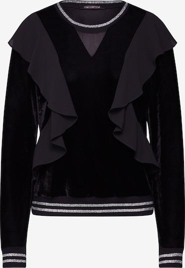 Fornarina Sweat-shirt 'RIE' en noir, Vue avec produit
