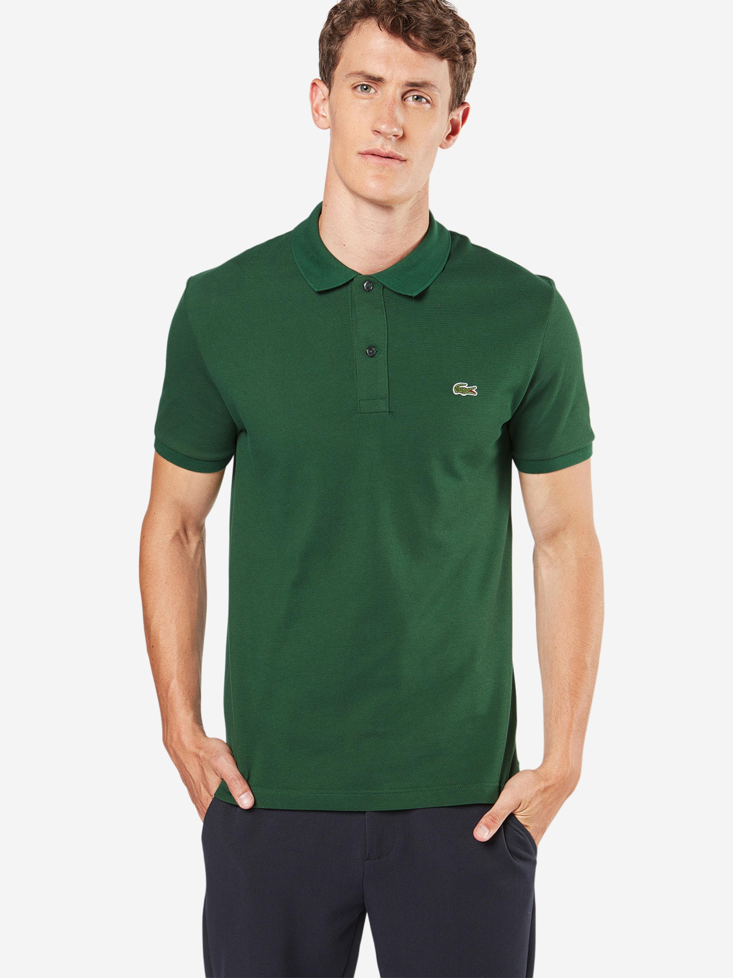 T En shirt Lacoste Vert Foncé l15uJTcFK3