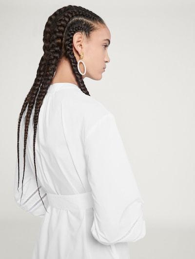 EDITED Bluzka 'Charlotte' w kolorze białym: Widok od tyłu