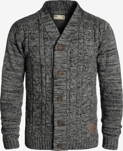 !Solid Strickjacke 'Philotus' in schwarz / schwarzmeliert, Produktansicht