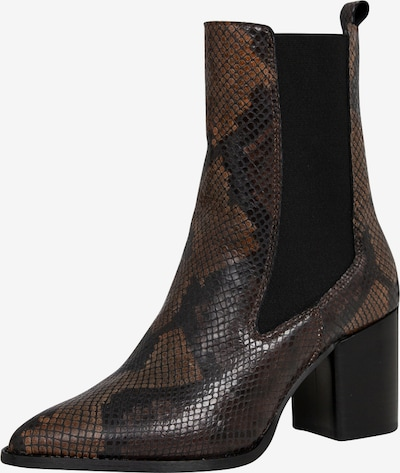 EDITED Chelsea škornji 'Andrine' | rjava barva, Prikaz izdelka